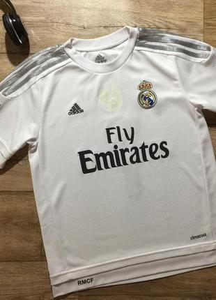 Adidas, футболка real madrid/ cristiano ronaldo 7 .на 14 лет