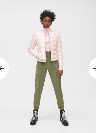Куртка с воротничком стойкой