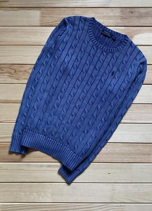 Крутейший, красивейший свитер polo ralph lauren garment dyed женский