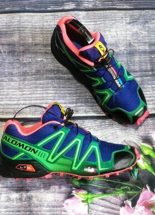 Яркие кроссовки  salomon speedkross 3 nike mamut la sportiva asics