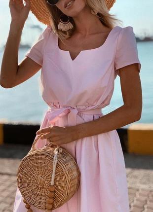 Хлопковое летнее платье. осталось одно!