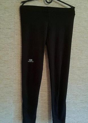 Спортивные штаны на девочку лосины бренд kalenji