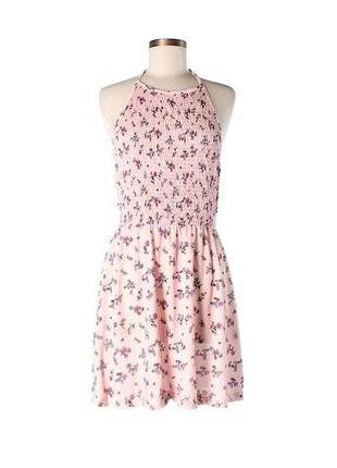 Нежное платье asos с открытыми плечами