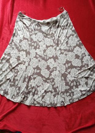 Легкая вискозная юбка 22