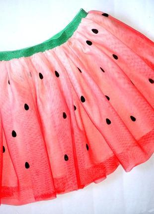 H&m фатиновая юбочка в идеальном состоянии, юбочка арбузик
