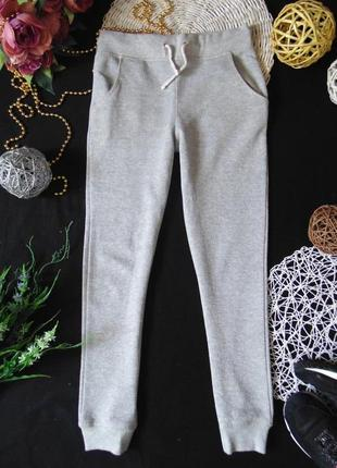 Спортивные штаны-джоггеры с серебристым мерцанием marks&spencer