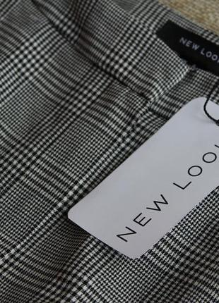 Новые, брюки, штаны,штани, в клетку, укороченые,серые, сірі,