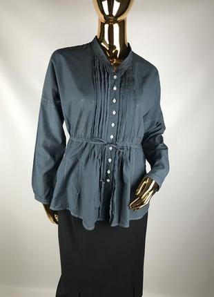 Легкая невесомая блуза оверсайз rene lezard
