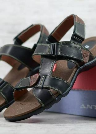 Мужские кожаные сандалии antec