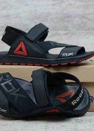 Мужские кожаные сандалии reebok
