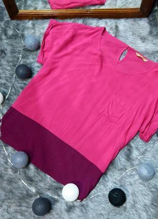 Блуза топ кофточка из натуральной вискозы tu