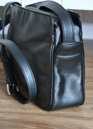 Кожаная сумка кроссбоди мессенджер hotter / шкіряна сумка4 фото