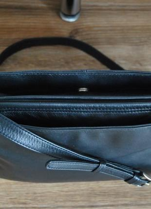 Кожаная сумка кроссбоди мессенджер hotter / шкіряна сумка5 фото