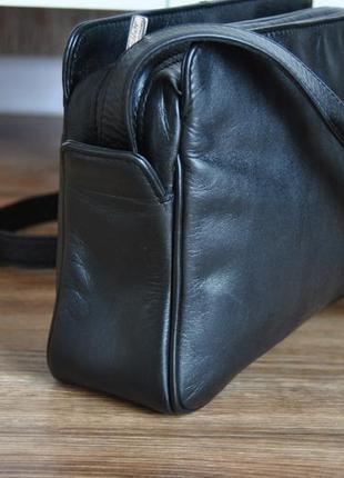 Кожаная сумка кроссбоди мессенджер hotter / шкіряна сумка3 фото