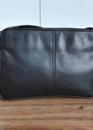 Кожаная сумка кроссбоди мессенджер hotter / шкіряна сумка6 фото