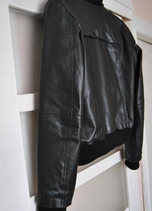 Кожаная куртка vero moda / шкіряна куртка5 фото