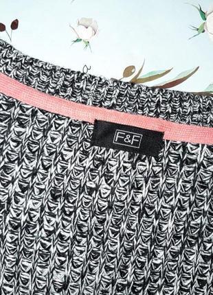 🎁1+1=3 стильный вязанный женский кардиган f&f, размер 46 - 484 фото