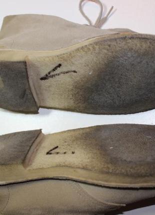 Дезерты дезерти ботинки черевики замшеві оригинал8 фото