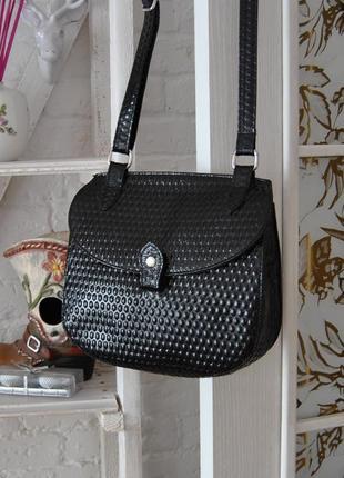 Кожаная сумка кроссбоди bericci / шкіряна сумка10 фото
