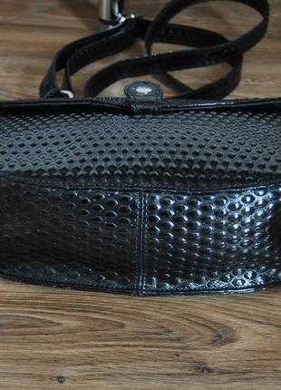 Кожаная сумка кроссбоди bericci / шкіряна сумка6 фото