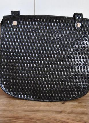 Кожаная сумка кроссбоди bericci / шкіряна сумка3 фото