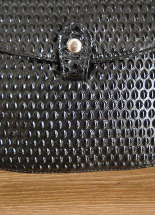 Кожаная сумка кроссбоди bericci / шкіряна сумка7 фото
