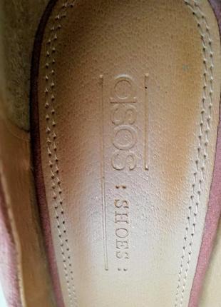 Туфли asos, размер 405 фото