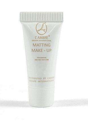 Тестер тонального крема в тубе matting make-up gold 2 ml