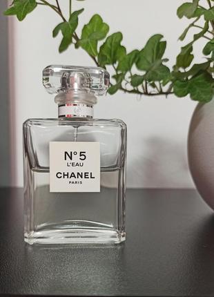 Chanel #5 l'eau (розпив 5мл, 10мл, 12мл, 15мл, 20мл) оригінал, особиста колекція3 фото