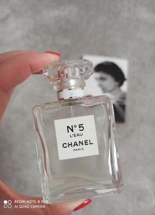 Chanel #5 l'eau (розпив 5мл, 10мл, 12мл, 15мл, 20мл) оригінал, особиста колекція2 фото