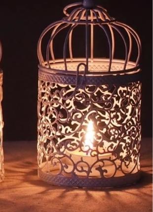 Подсвечник фонарь декоративный