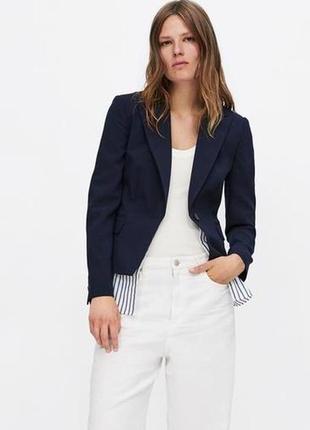 Стильный look от zara на лето, размер s (пиджак, рубашка и футболка)