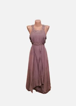 Нежное платье 💯 натуральный шёлк