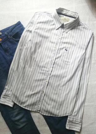 Полосатая рубашка, сорочка в полоску, блузка, оверсайз, бойфренд