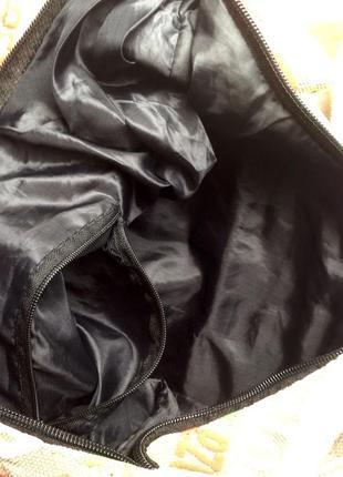 Сумка торба шоппер из мешковины5 фото