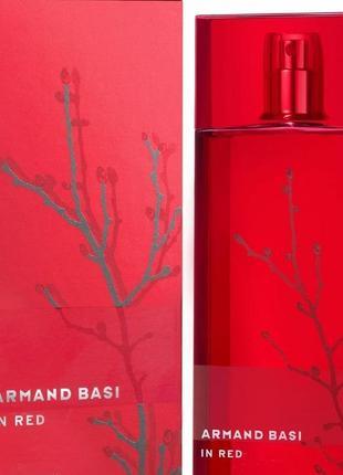 Парфюм armand basi in red eau de parfum