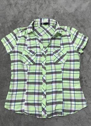 Рубашка блуза m-l