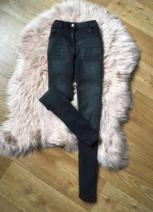 Крутые джинсы скини с высокой посадкой