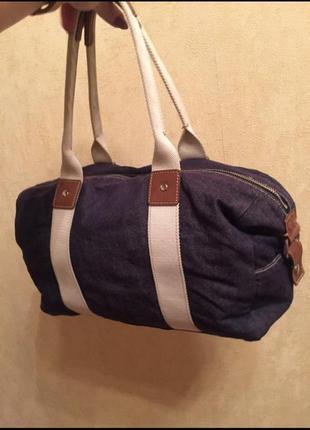 Стильная джинсовая сумка gap, сумка для лоукостера