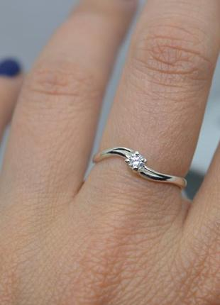 Серебряное #кольцо #каблучка #обручка #камень #заручини 925 все размеры