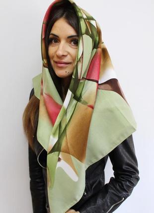 Платок шарф кашемировый