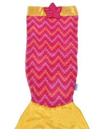 Одеяло-плед snuggie tails для детей хвост русалки