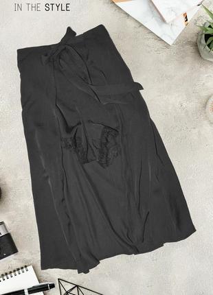 Элегантные шорты с подолом in the style