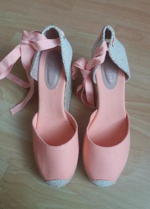 Туфли эспадрильи 41р