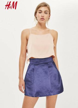 Объемная юбка с фатиновым подъюбником h&m