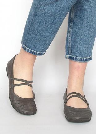 Туфли, балетки, bama, натуральная кожа. большой размер.