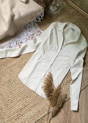 Рубашка в мелкий горох