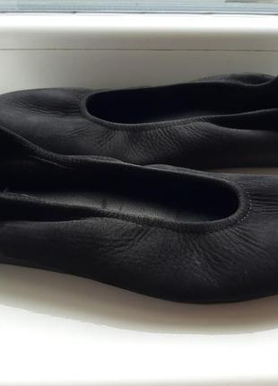 Франция! новые!кожаные балетки туфли лодочки