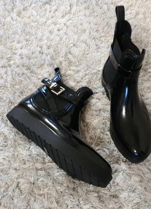 Стильні ґумові чобітки san marina р.37.
