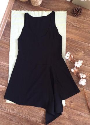 Платье ассиметрия zara